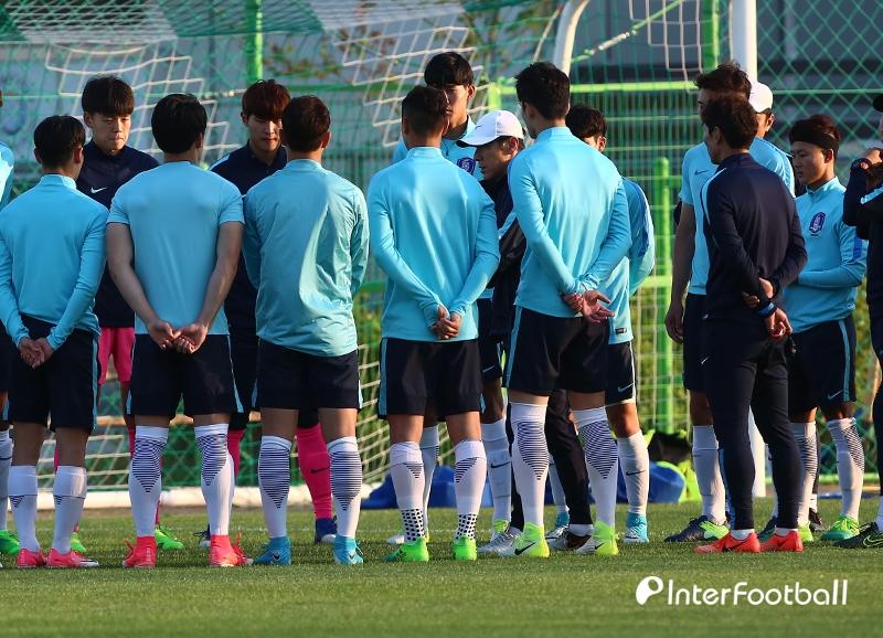D-1, 비장함 가득한 U-20 대표팀_이미지