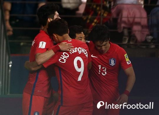 '임민혁-백승호 연속골' 한국, 기니에 3-0 리드(후반 진행중)