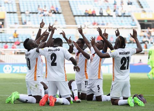 '아프리카 챔피언' 잠비아, 포르투갈 2-1 제압...C조 선두