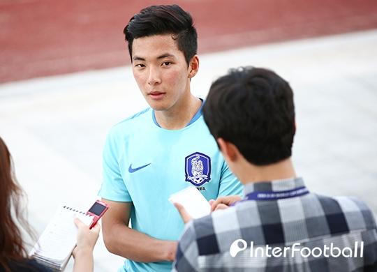 """'추가골' 임민혁, """"긴장? 보여주고 싶었다"""""""