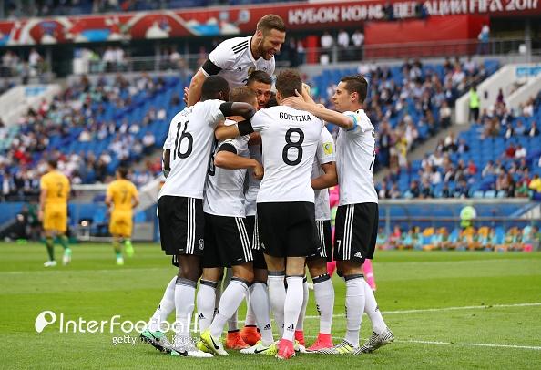'드락슬러-고레츠카 골' 독일, 호주에 3-2 승...B조 2위_이미지