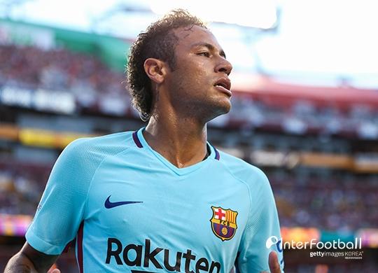 바르사, 네이마르 바이아웃 지불시 UEFA에 'PSG 제소'(ESPN)