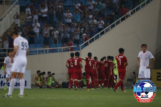 K리그 올스타, 베트남과 최악의 졸전