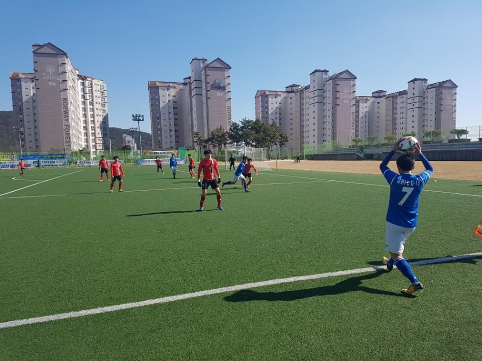강원FC U-18, 서울 용산FC에 4-1 대승...16강은 좌절