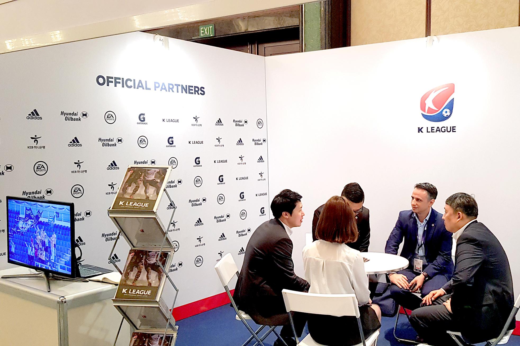 K리그, 亞 최대 스포츠 산업 박람회 'SPORTEL ASIA' 참가_이미지