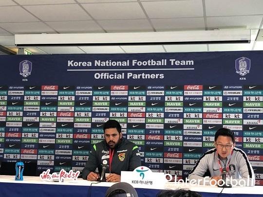 """볼리비아 감독, """"한국이 더 위협적, 월드컵 준비 과정일 뿐"""""""