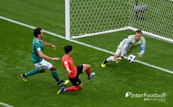 """당황한 독일, """"한국이 1-0으로 앞서야 마땅할 전반전""""_이미지"""
