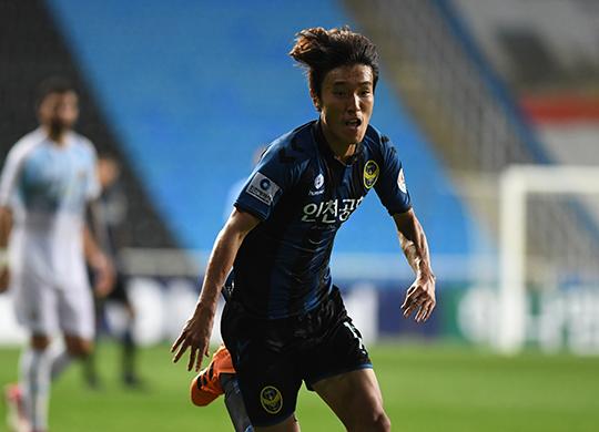 인천 김진야, 'U-20 월드컵' 탈락 아픔 딛고 아시안게임 출격